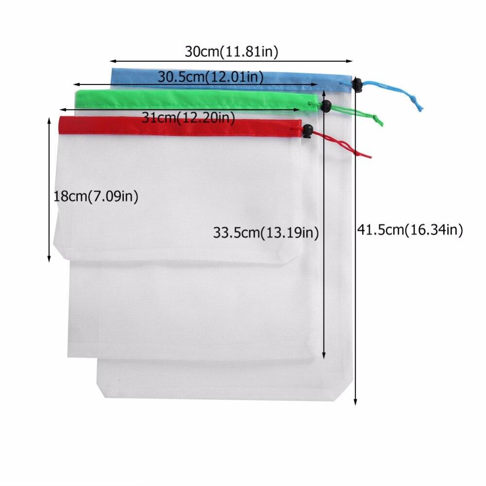 12pcs Reusable Produce Bags 1