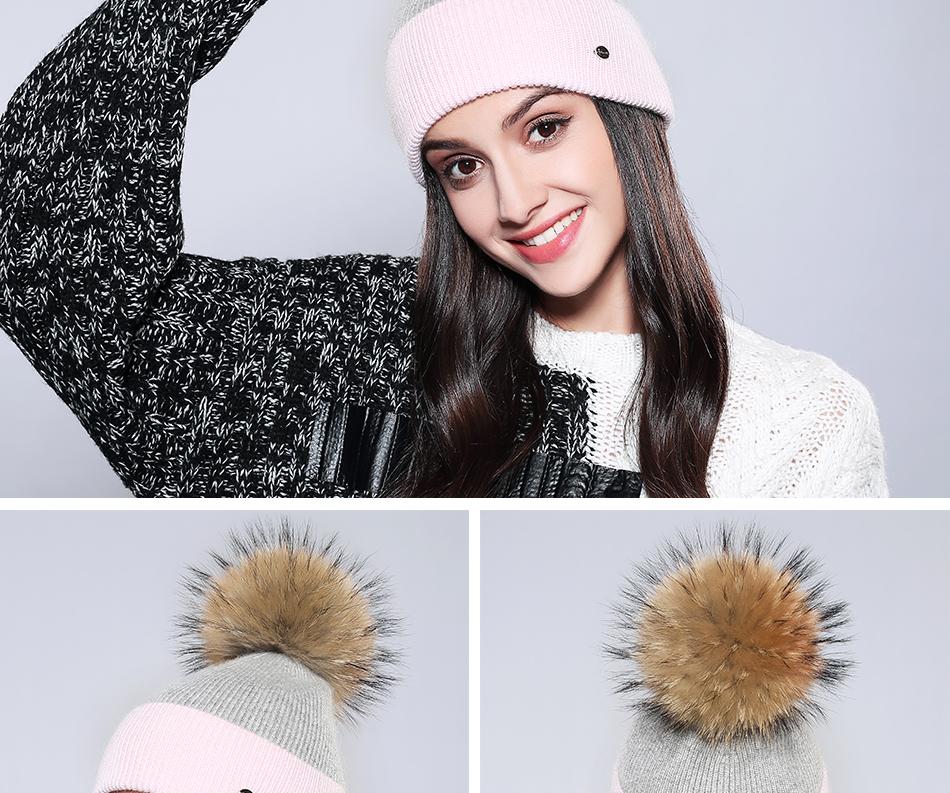 Winter Hat For Women MZ744 (16)