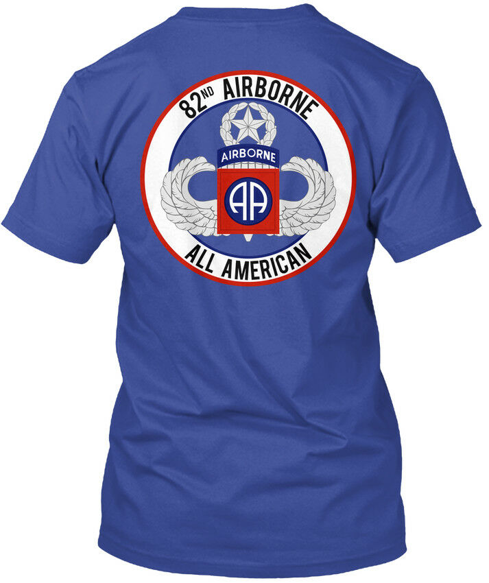 2019 Funny 82Nd Airborne Master Aa 82 Nd All American Tee T Shirt Double Side Unisex Tee in T Shirts from Men 39 s Clothing