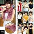 1 пк / lot верхний сплошной тайвань мэджик шарфы женщины своими руками платки пашмина много функция шарфы
