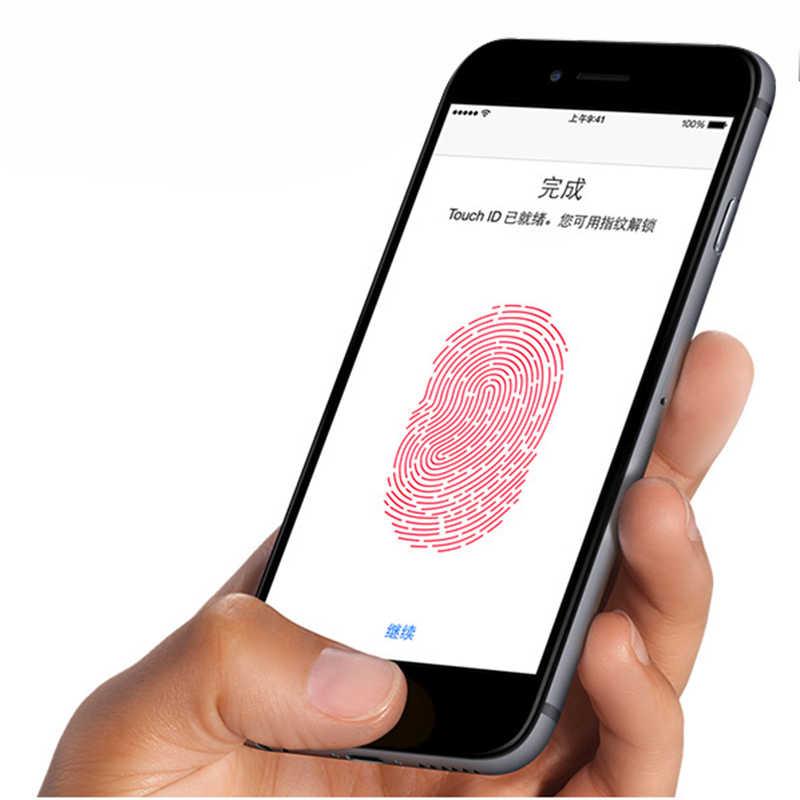 بصمة اللمس ID فيلم ل فون 8 المنزل مفتاح زر حامي شريط لاصق ل فون 8 7 زائد 5 S SE 6 S 6 باد الهواء برو البسيطة