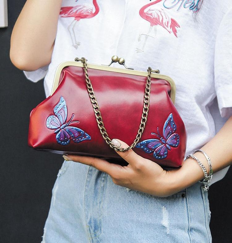 Women Handbags PU Leather Shoulder Crossbody Bags Handbag Female vintage fashion Famous Brand Women Bags (2)