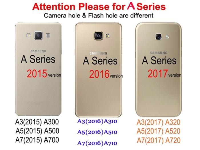 Originele Glitter Telefoon Case Cover Fundas voor Samsung Galaxy A7 - Mobiele telefoon onderdelen en accessoires - Foto 2