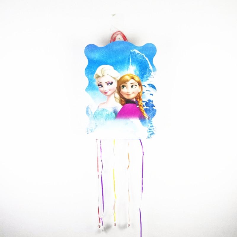 1 Pc 40*29 Cm Prinses Elsa Anna Papier Pinata Kinderen Meisjes Verjaardag Feestartikelen Gelukkige Verjaardag Partij Decoratie