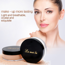 Lameila Refreshing Mineral Loose Powder Honey Natural Bare Radiance Oil-control light and Delicate Face Makeup Cosmetic TSLM1