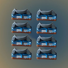 8pcs/lot Razor Blade For Men Shaving Blades Safety Blades Cassette Shaver Suit For Gillettee Fusion proglide