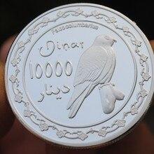 Курдистан 10000 динар медаль для монет, Исламская Империя, Россия, ираковый пророк, Индия, Мухамед, арбическая птица, Турция, исреал, Джерузалем, ангел