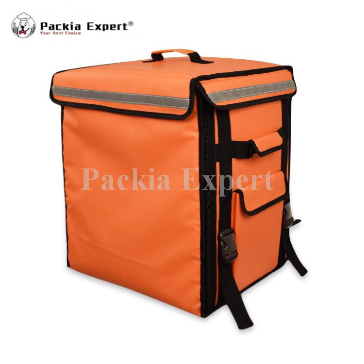 15 L x 12 W x 18 H Pizza Cak Delivery Box, Big Pizza Delivery Bag Catering Carrier, Backpack 2-Way Zipper Closure PHSB-433652 напольные весы scarlett sc bs33e064 bamboo