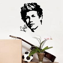 Famous Star NIALL HORAN Of ONE DIRECTION Poster Vinyl Wall Sticker Living Room/Bedroom Art Decals Mural Decor