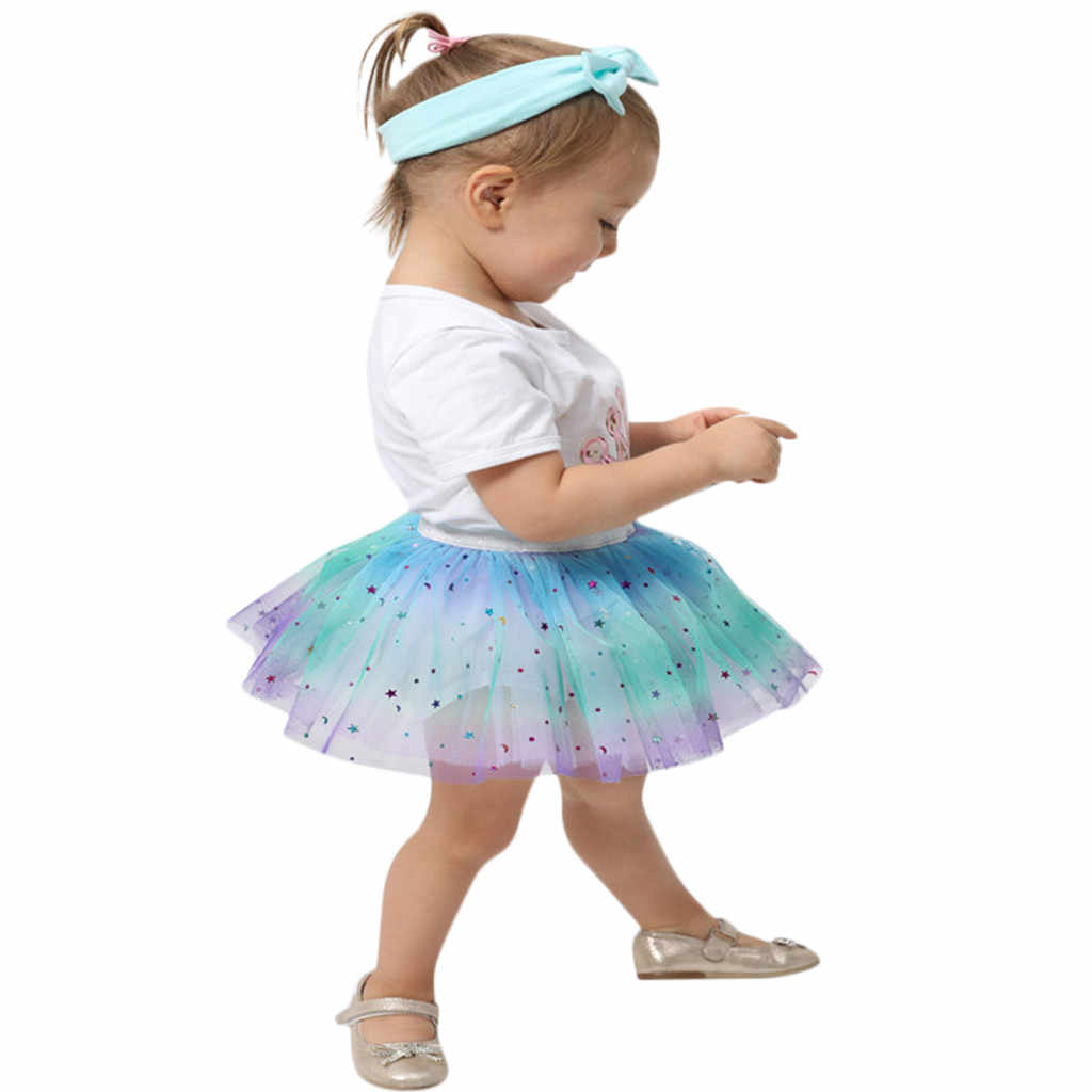 8834fb17fbe6 Detail Feedback Questions about Todder Kid Girl Petticoat Rainbow ...