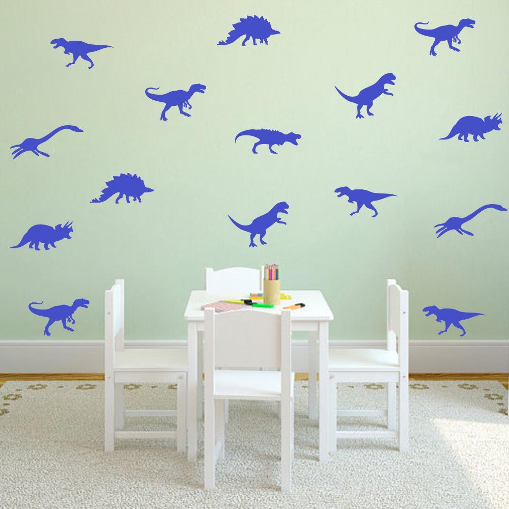 Cartoon Dinosaur Wall Stickers