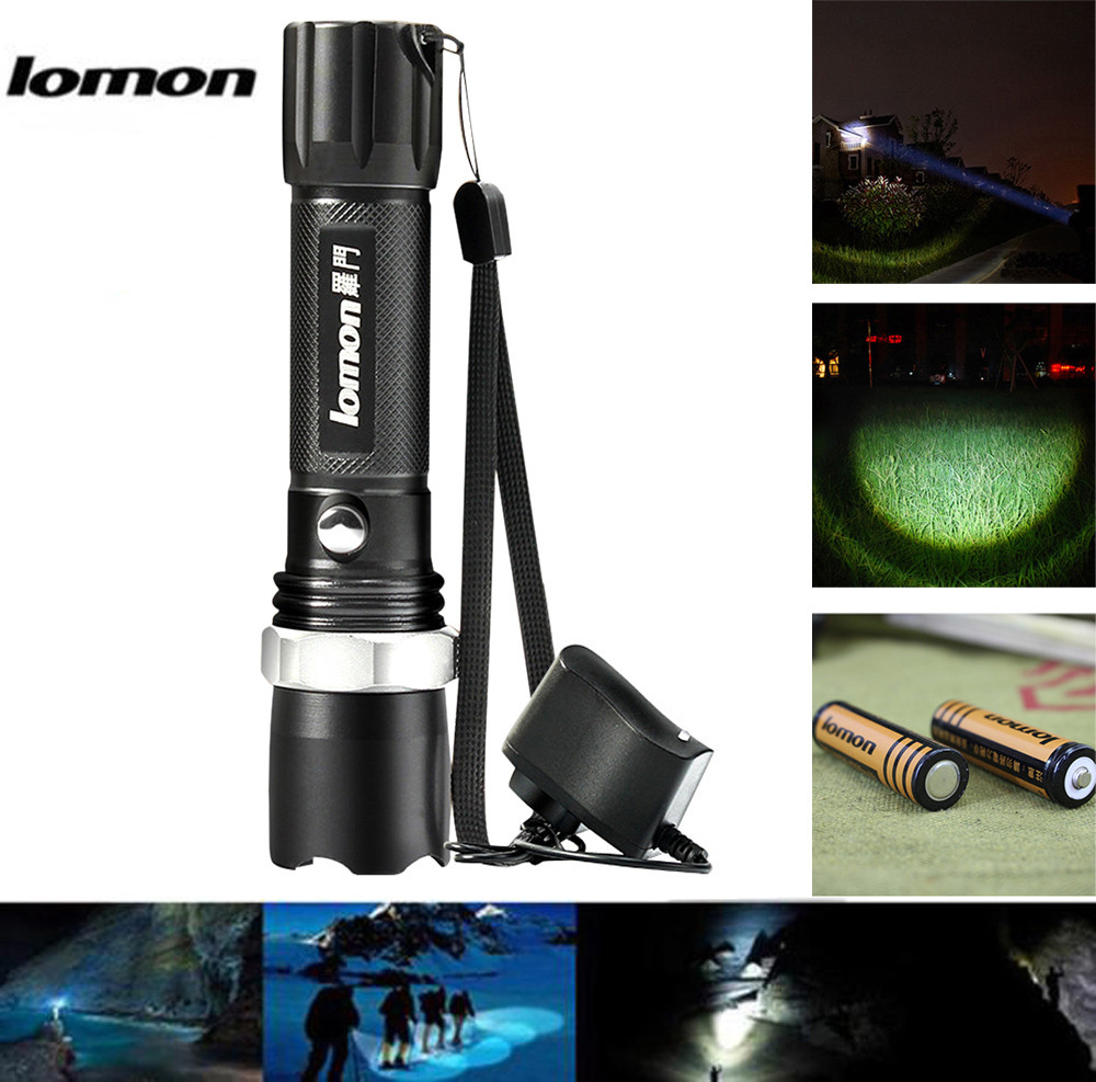 Amiable New High Quality Ipx-55 Waterproof Life Rating Led Outdoor Flashlight Lamp With Flat Tail Drop Shipping Various Styles Led Lighting