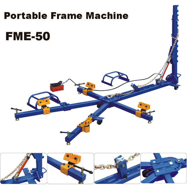 FME 50 portable auto body collision repair frame machine-in Car ...