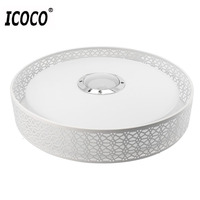 ICOCO Smart Music LED Ceiling Light Bluetooth 4 0 Control Music Color Changing Surface Mounted Lamp