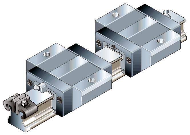 100% genuine HIWIN linear guide HGR15-1300MM block for Taiwan hiwin 100% genuine linear guide block hgh15ca hiwin