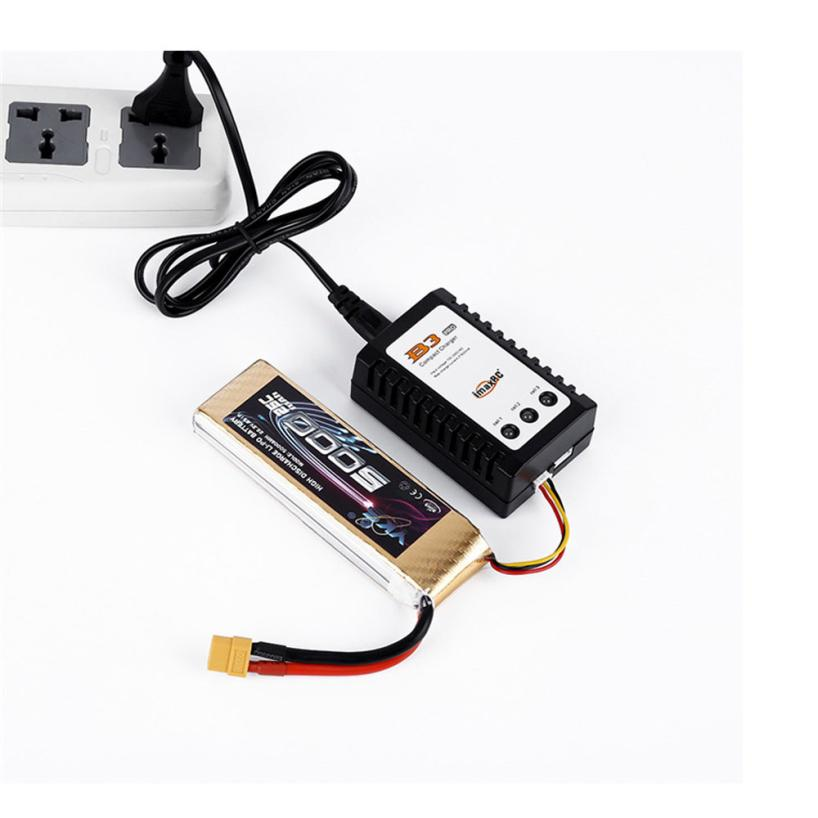 IMAXRC B3 AC 2S 3S 12W Compact Balance Charger For RC Helicopter LiPo Battery EU Plug Z816