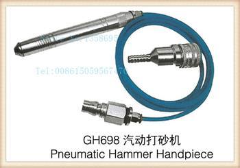 Pieza de mano de martillo neumático, herramientas de joyería de pluma de lijado