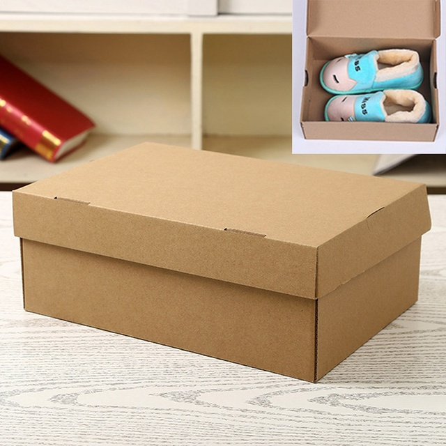 Paper Shoe Boxes Storage Organizer Stackable Box Children\'s Toys ...
