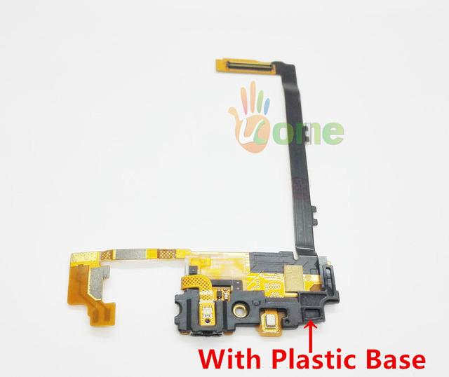 Você kit original com base de plástico para lg google nexus 5 D820 D821 Carregador Doca de Carregamento USB Porto Flex Cable conector