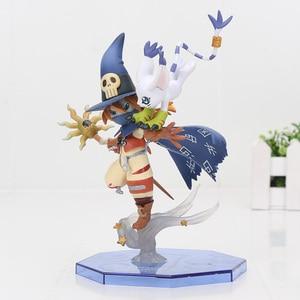 Image 5 - Digimon Adventure Digital Gabumon & Yamato figure Angemon Wizarmon anime Cartoon Toy PVC Action Figure Model Doll  13 22cm