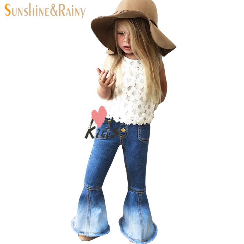 Fashion kids trausers denim jeans girls ripped blue bebe jeans warm baby girl boot cut pant jeans replay skinny baby jeans new 2018 newly fashion men s jeans high quality skinny fit ripped jeans men elastic punk pants hip hop white stripe printed jeans