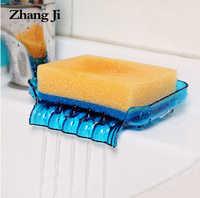 Cascade en plastique porte-savon salle de bains accessoires vidange boîte à savon porte-savon de douche vidange cuisine évier porte-éponge ZJ121