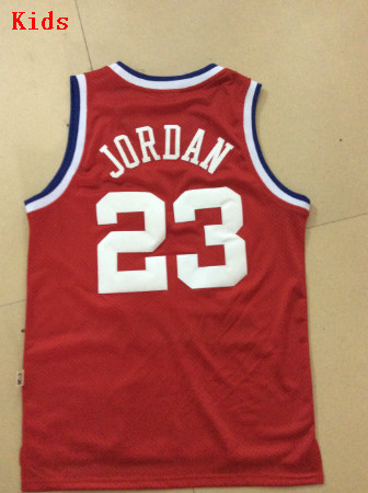 epwkkd Kids 1989 All Star Throwback Basketball Jerseys Youth #23 Michael