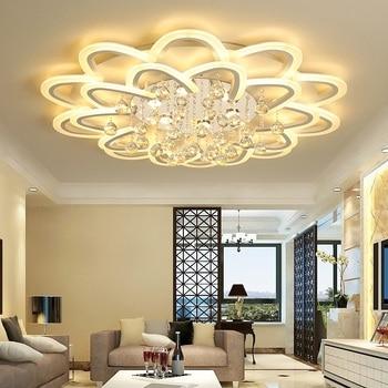 Postmodern flower type acrylic LED ceiling lights Home Living Room Bedroom Study Room Ceiling lamps Commercial lighting