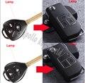 ¡ Nuevo Estilo! 2 Botones/Del Tirón 3 Botones Modificado Plegable Shell Remoto Caso Clave Para Toyota Camry Corolla Reiz RAV4 Clave Fob cubierta