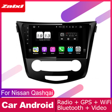 ZaiXi android car gps multimedia player For Nissan Qashqai J11 2013~2019 dvd navigation radio video audio Navi Map
