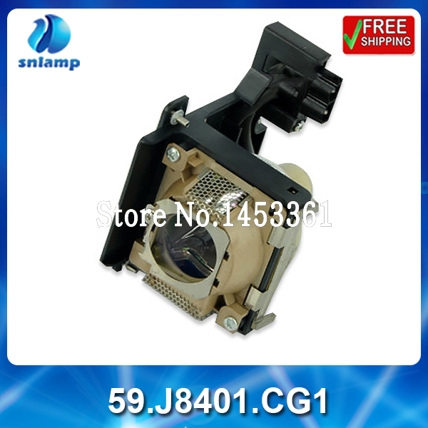 Alibaba aliexpress cheap replacement projector lamp bulb 59.J8401.CG1 for  PB7100 PB7105 PB7110 PE7100 PE8250 free shipping replacement bare projector lamp 59 j8401 cg1 for benq pb7100 pb7105 pb7110 pe7100 pe8250