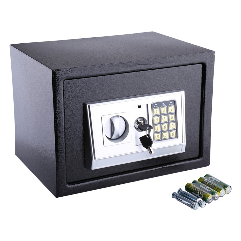 Excellent Us 34 7 30 Off 16L Security Lock Digital Safe Storage Box To Guard Money Cash Coins Jewelry Key Cash In Safes From Security Protection On Wiring Cloud Usnesfoxcilixyz