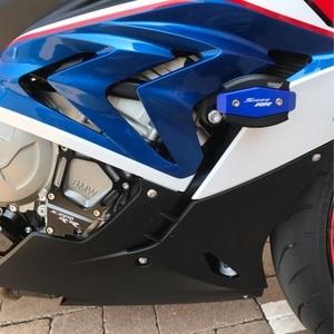 Image 4 - S1000RR S 1000 R RR XR دراجة نارية محرك التصنيع باستخدام الحاسب الآلي موفر الموالي غلاف حماية تحطم معدات الحماية لسيارات BMW S1000RR HP4 S1000R S1000XR