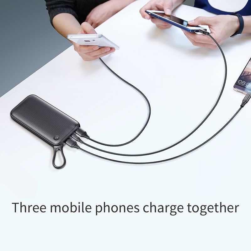 Baseus 20000mAh batterie externe Pour Samsung S9 S8 Plus Charge Rapide 3.0 USB C De Charge Portable Batterie Externe banque d'alimentation de chargeur