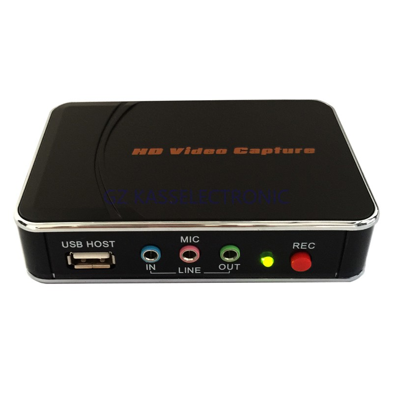 ФОТО 2017 new  video vhs player  for game box , Xbox 360, PS  from HDMI 1080P YPbPr input  to USB Flash Disk or HDMI, Free shipping