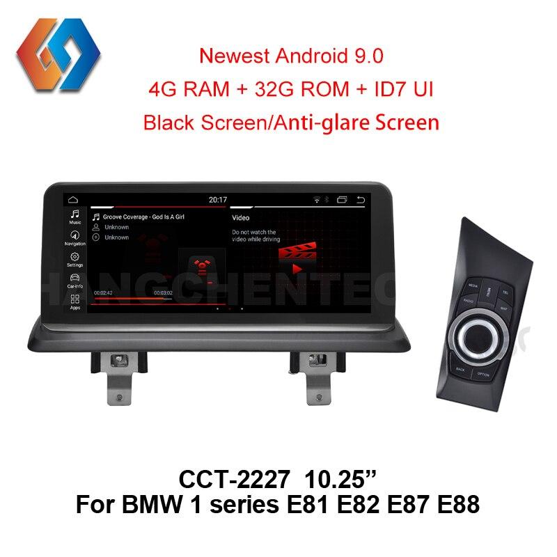 Pour BMW 1 série E81 E82 E87 E88 Android 9 Px6 GPS Navigation multimédia intégré Bluetooth WiFi Support DVR arrière Cam iDrive27