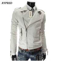 Motorcycle Leather Jacket Men Motorcycle Jackets Blouson Bomber Cuir Homme Male Leather Bomber Jacket Mens Veste Homme