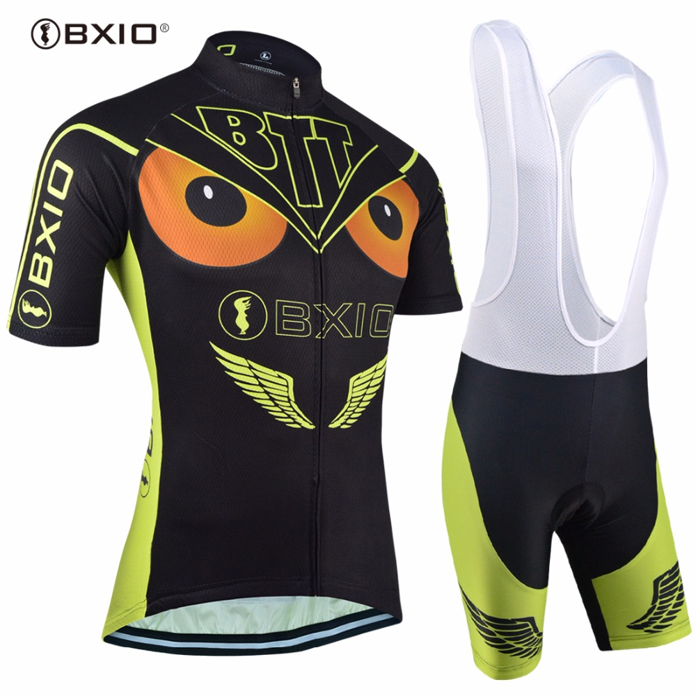 59b5d10f BXIO Brand Cycling Jersey Sets Bike Team Pro Jerseys Maillot Ciclismo Over Size  Bicycle Clothing Multi