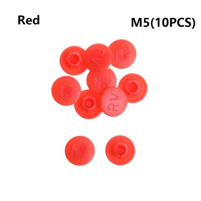 Accessories Dustproof Protective Gadget M5//M6  Screw Cap Bolt Cover Hexagon