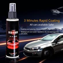 9H 100ml Car Crystal Maintenance Cleaner Anti Scratch Plating Coating Lacquer Paint Care Polished Glass Coating Strong Clean