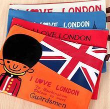 1 PC Zipper Bag School Folders Paper Folder Organizer Office Holder Paper Document Bag London Folder File fichario Free Shipping