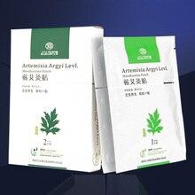 2 Pcs Far-infrared Moxibustion Heat Paste Non-smoking Moxa Leaf Stickers