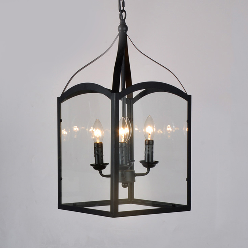 Vintage candle pendant light glass hang lamp Restaurant/Bar/Cafe/Loft/Hall iron lampshade Antique home decor LED lamp Lampara new loft vintage iron pendant light industrial lighting glass guard design bar cafe restaurant cage pendant lamp hanging lights