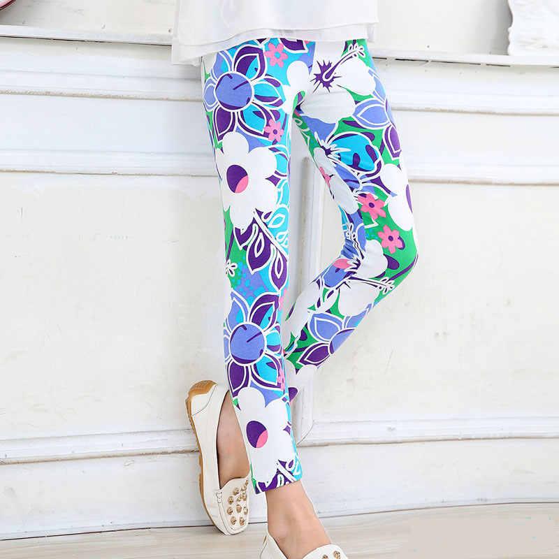 Flower Girls legginsy ołówkowe spodnie dla dziewczynki jesienne spodnie dla dzieci nastolatek 12 14 lat spodnie dziecięce
