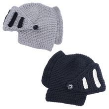 Top Sell Special Offer Solid Adult Novelty Beanie Rome Knight Knitting Hat Manual Winter Cap