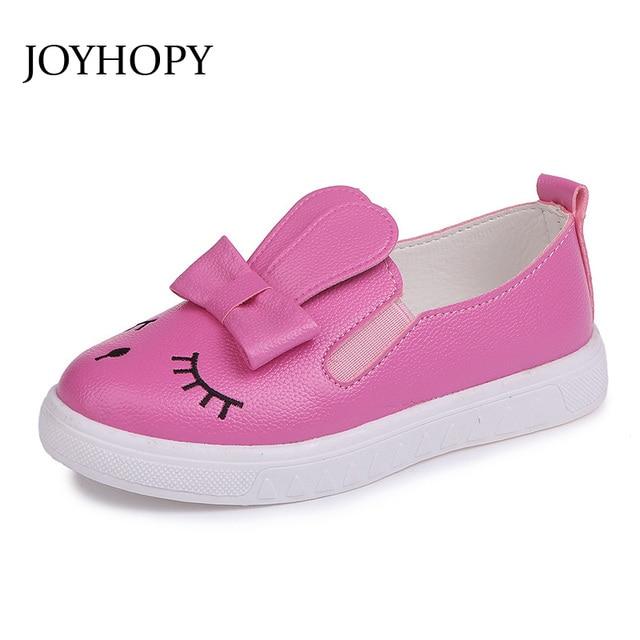 b3f811f9f0fa1a Dzieci Buty dla Dziewczynek Sneakers Rabbit Skórzane Obuwie Dziecięce  Trampki Dziecięce Dziewczyny Buty Sportowe Do Biegania