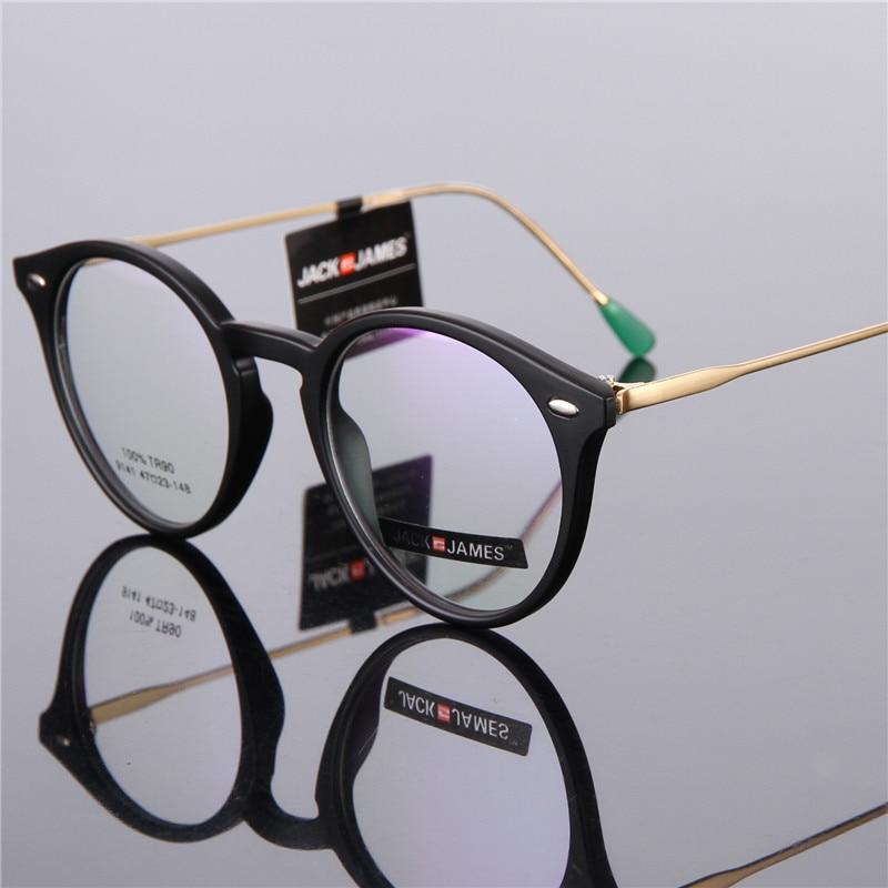 48fa7f26c2 High Quality Fashion Retro Round Glasses Frame TR90 Glasses Men Women Full  frame Prescription Glasses Optical Frame 141-in Eyewear Frames from Apparel  ...
