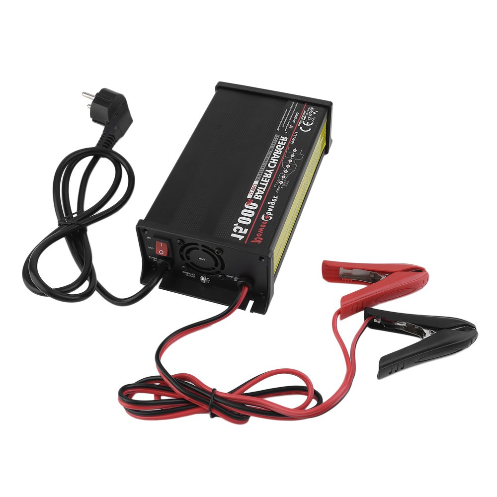 Haute Puissance Plomb-Acide Batterie Intelligent Chargeur intelligent Pour Vehicel 12 v Automatique 7 Stade D'entretien Cellulaire Fonction