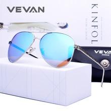 ФОТО vevan 2018 pilot polarized sunglasses women brand designer uv400 sunglass luxury alloy sun glasses mirror oculos de sol with box