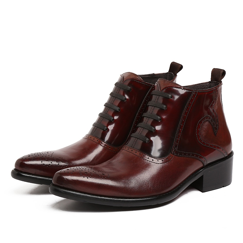 High Quality Mens Black Leather Dress Boots Promotion-Shop for ...